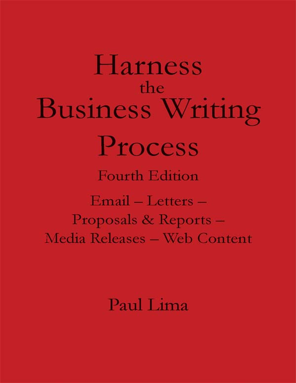 Fundamentals of Writing, Paul Lima
